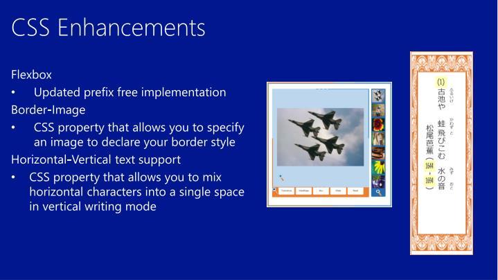 CSS Enhancements