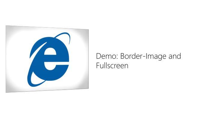 Demo: Border-Image and