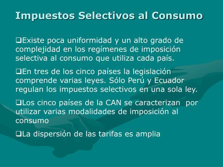 Impuestos Selectivos al Consumo