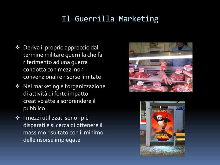Il Guerrilla Marketing
