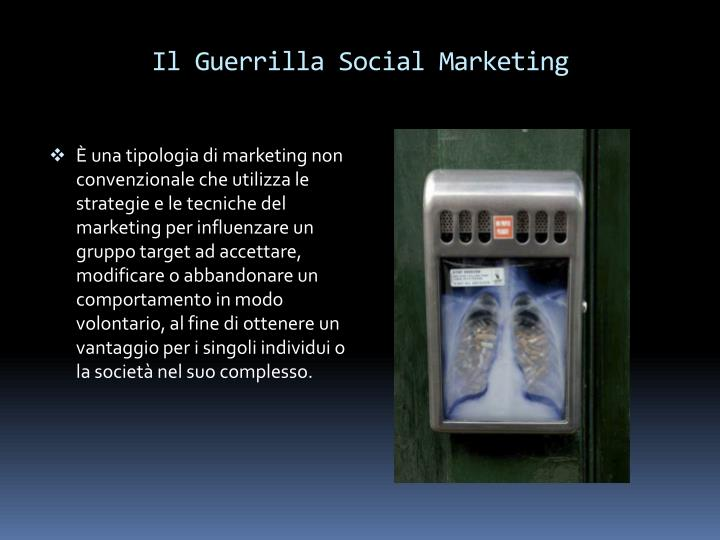 Il Guerrilla Social Marketing