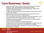 core business goals
