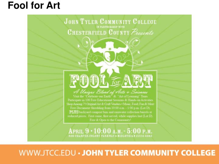 Fool for Art