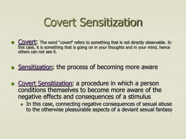 Covert Sensitization