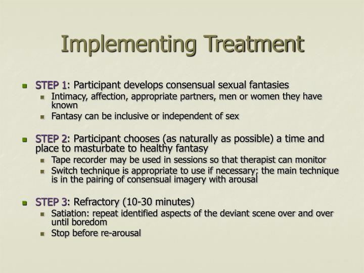 Implementing Treatment
