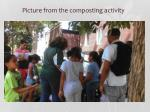p icture from the composting activity