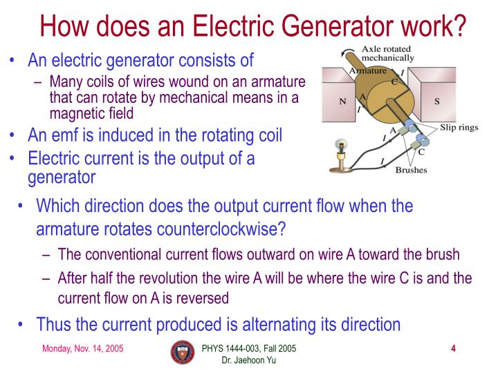 How does an Electric Generator work?