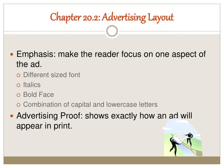 Chapter 20.2: Advertising Layout