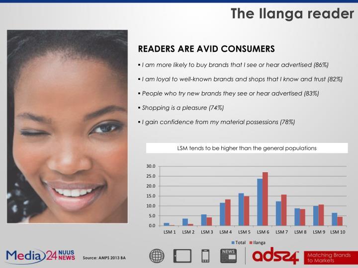The Ilanga reader