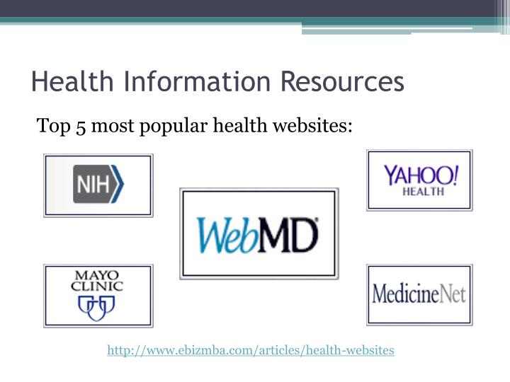 Health Information Resources