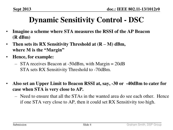 Imagine a scheme where STA measures the RSSI of the AP Beacon