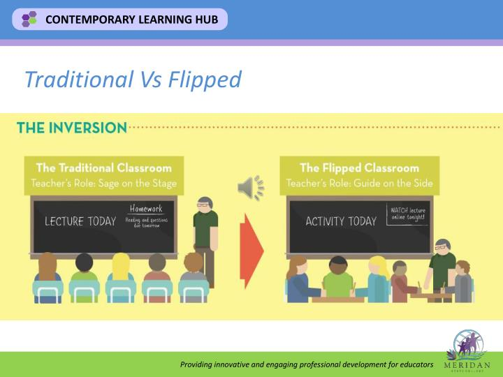 Traditional Vs Flipped