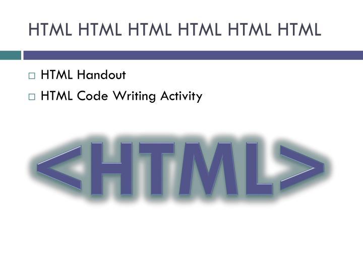 HTML HTML HTML HTML HTML HTML
