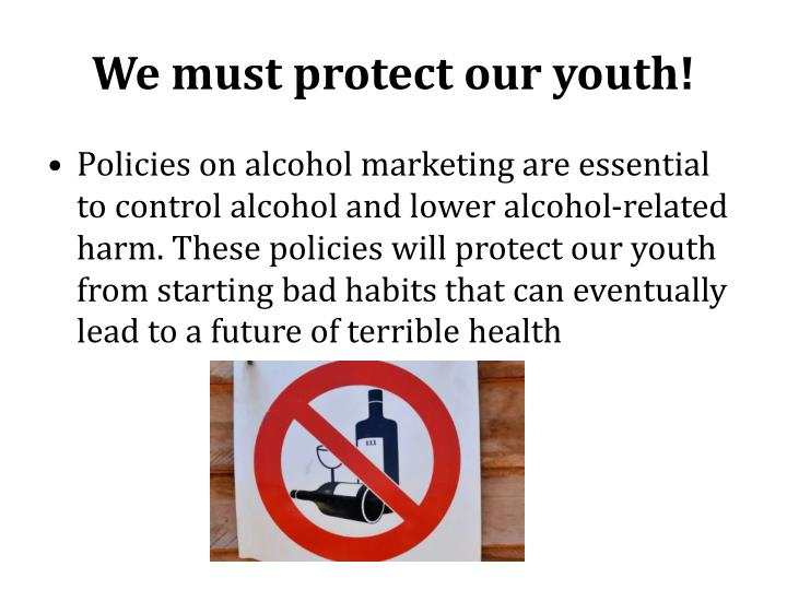 We must protect our youth!