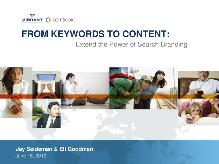 from keywords to content
