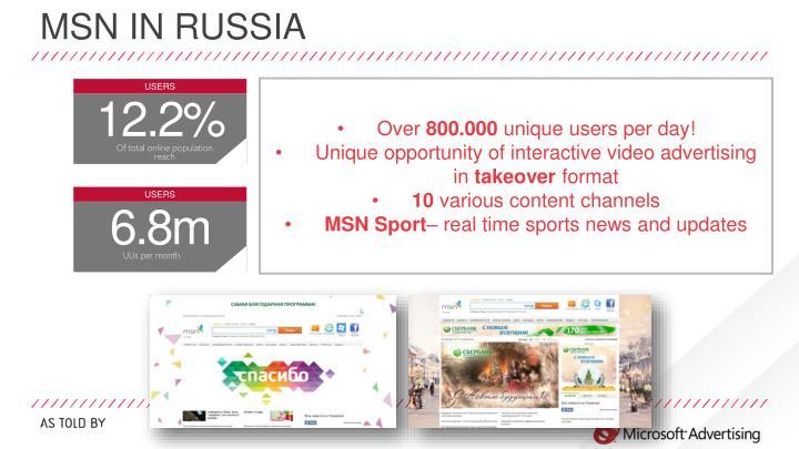 MSN in