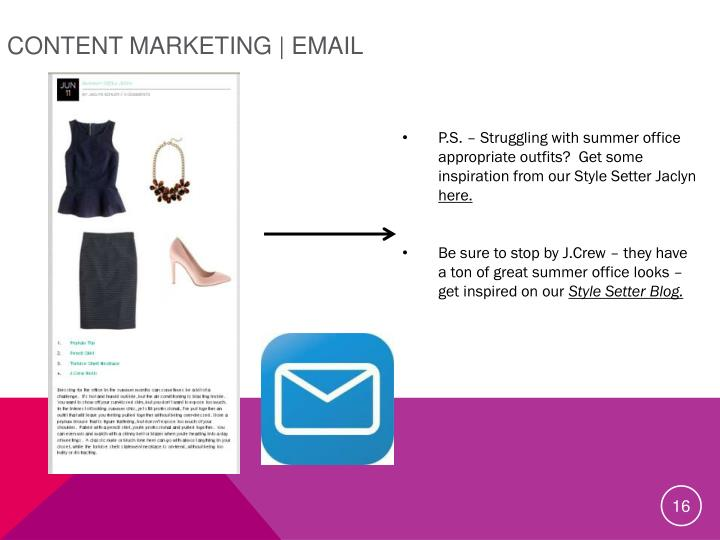 Content Marketing | Email