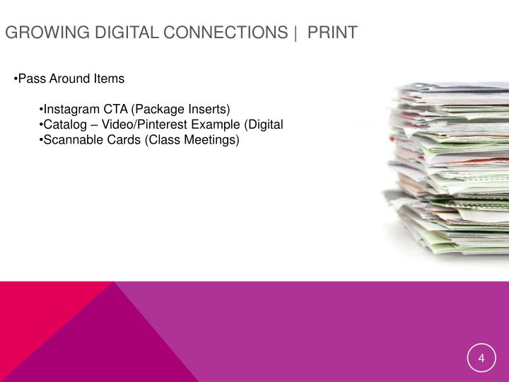 Growing Digital Connections