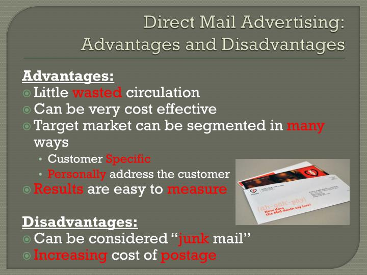 Direct Mail Advertising: