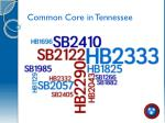 common core in tennessee