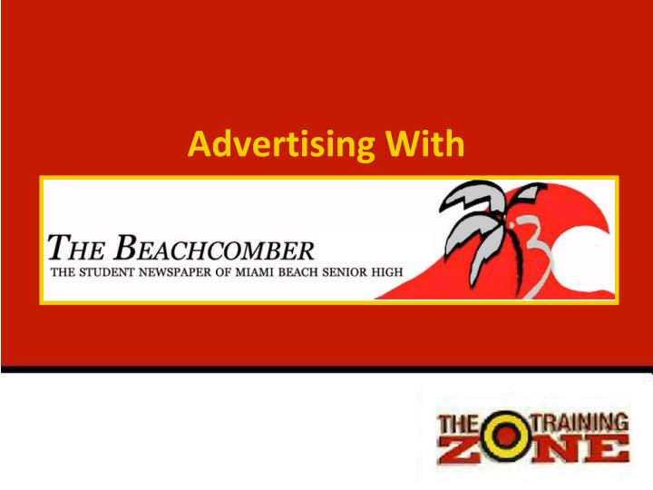 advertising with