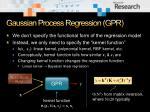 gaussian process regression gpr