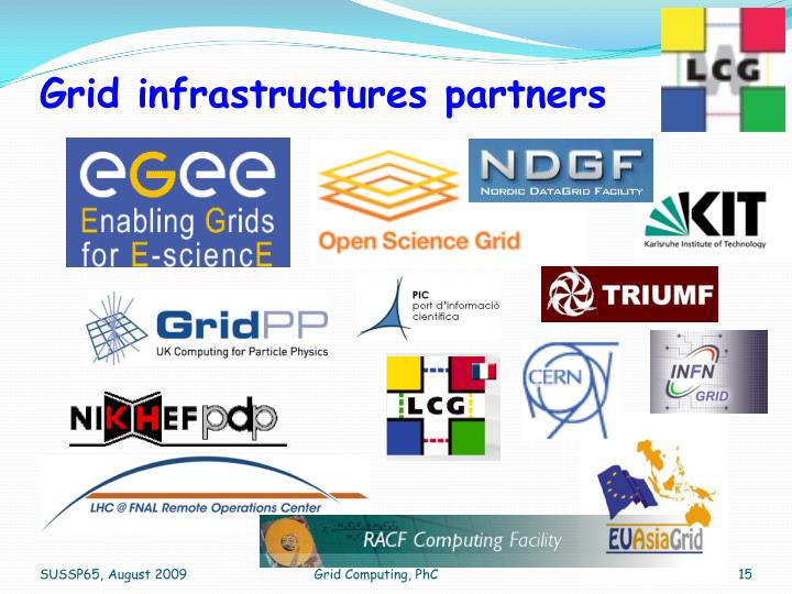 Grid infrastructures partners