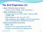 the grid experience 1