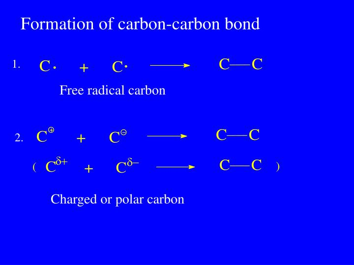 Formation of carbon-carbon bond