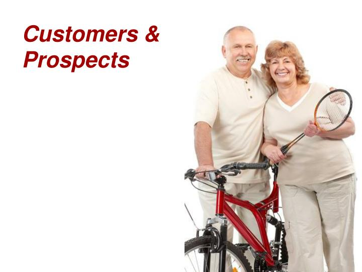 Customers & Prospects