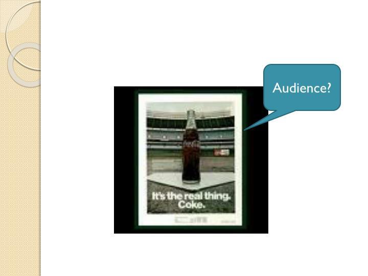 Audience?