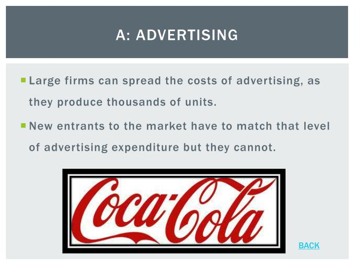 A: Advertising