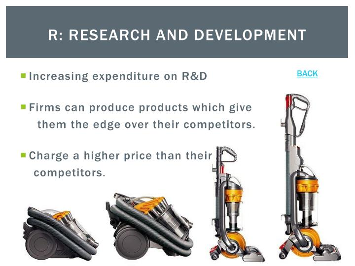 R: Research and Development