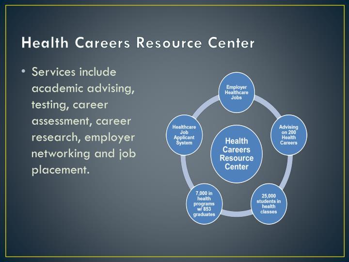 Health Careers Resource Center