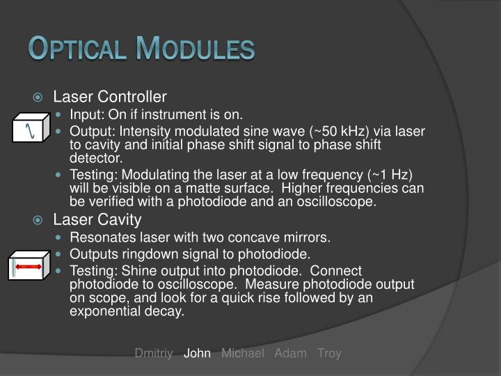 Optical Modules