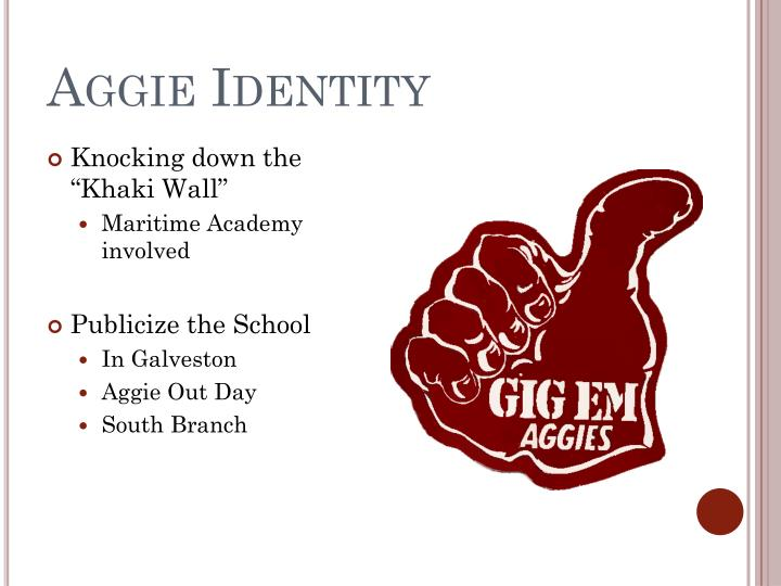 Aggie Identity