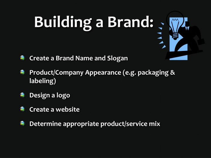 Building a Brand: