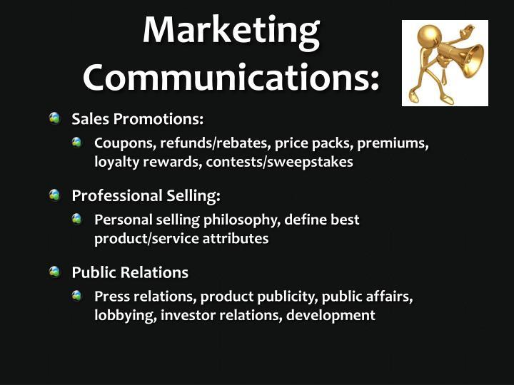 Marketing Communications: