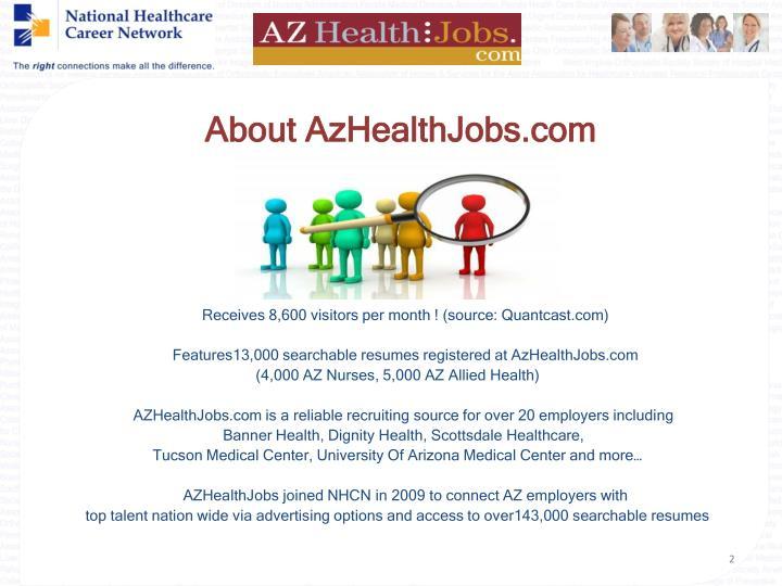 About AzHealthJobs.com