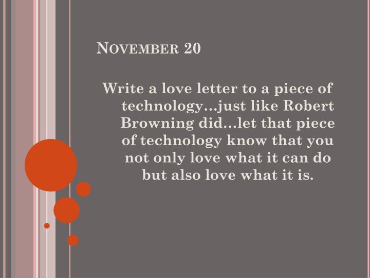 November 20