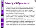 privacy vs openness3