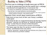 buckley vs valeo 1976