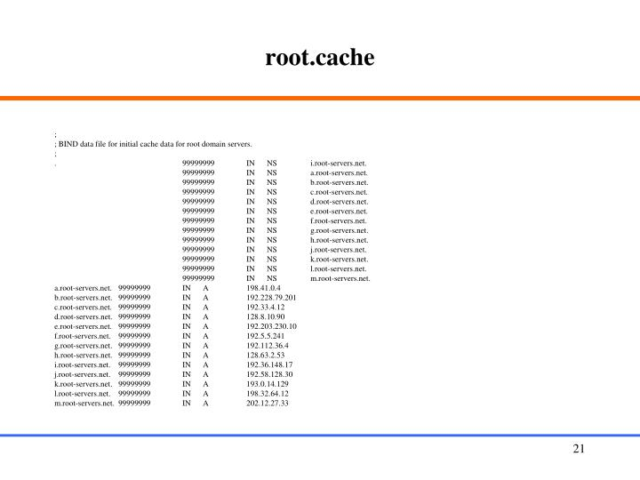 root.cache
