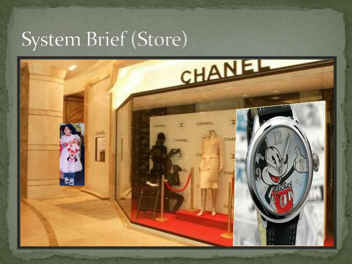 System Brief (Store)