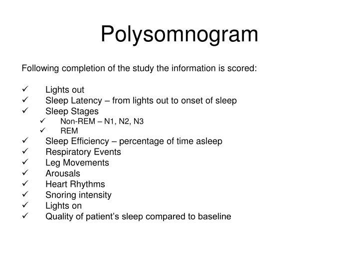 Polysomnogram