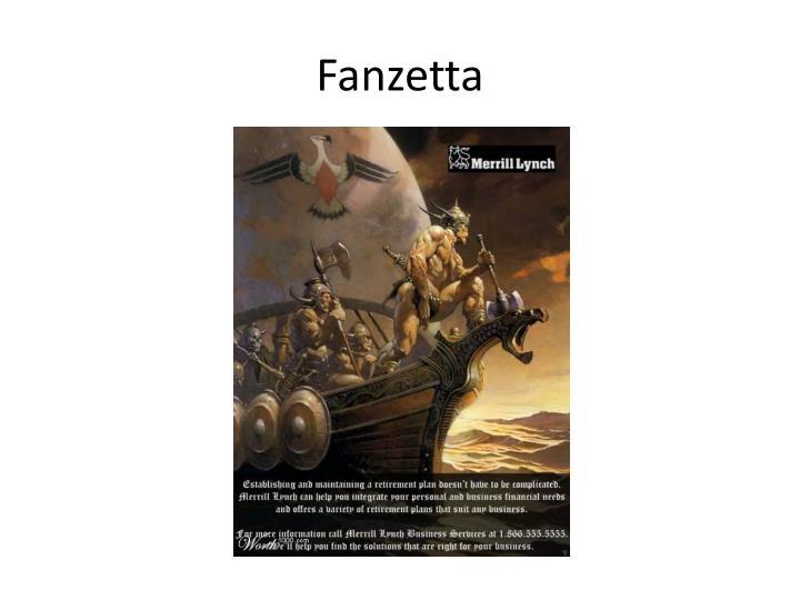 Fanzetta