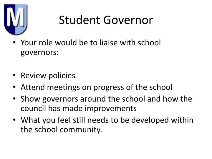 Student Governor