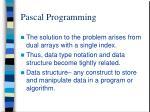 pascal programming3