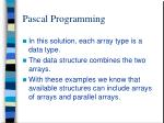 pascal programming4