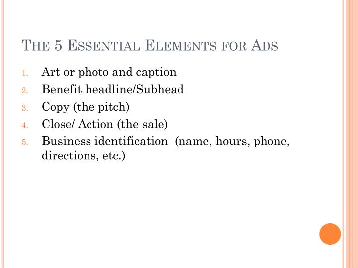 The 5 Essential Elements for Ads